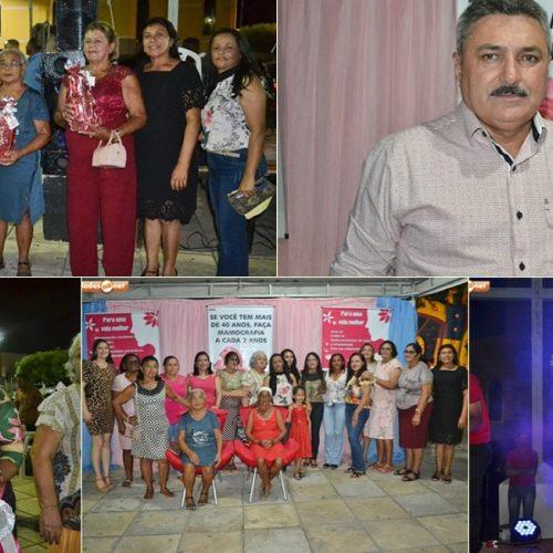 SIMÕES | Prefeitura realiza festa em homenagem às mulheres