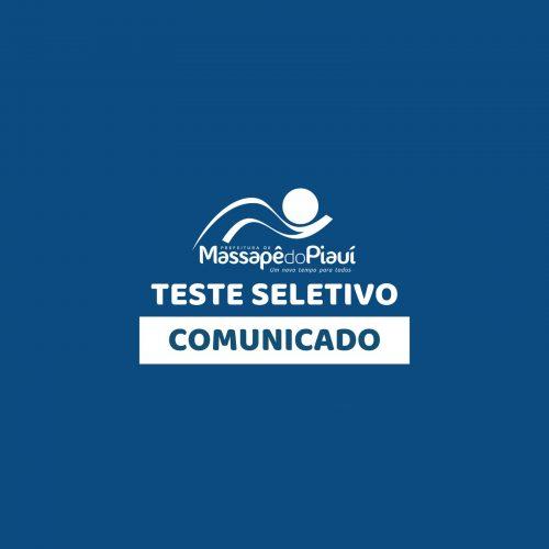 Teste Seletivo de Massapê do Piauí é suspenso temporariamente