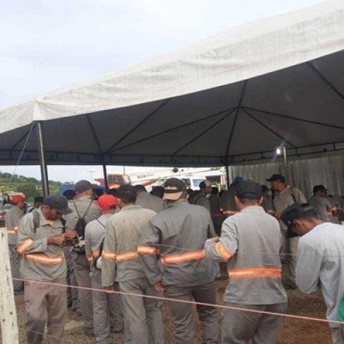 Com serviço normal, trabalhadores de usinas eólicas ficam expostos no Piauí