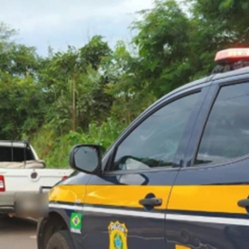 Veículo roubado em Salvador é recuperado pela PRF na BR-316 em Inhuma