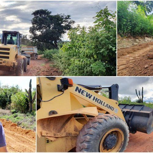 Prefeitura de Caldeirão Grande do Piauí realiza trabalho de melhorias nas estradas vicinais