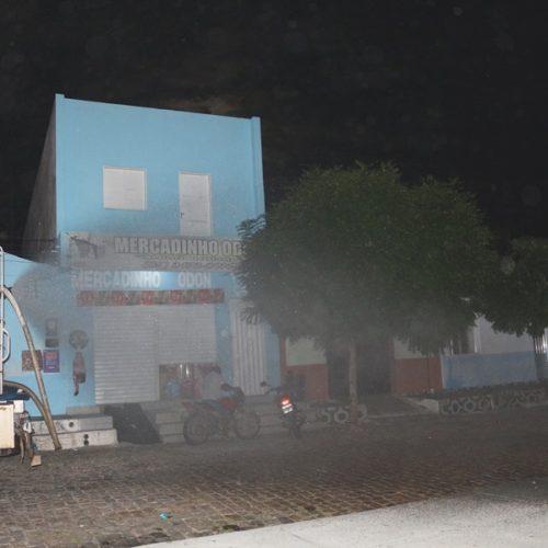 Prefeitura de Massapê do Piauí higieniza locais públicos para evitar contágio pelo coronavírus