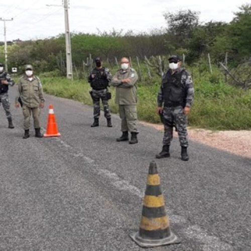 JAICÓS | Polícia Militar realiza operação de fiscalização nas saídas do município