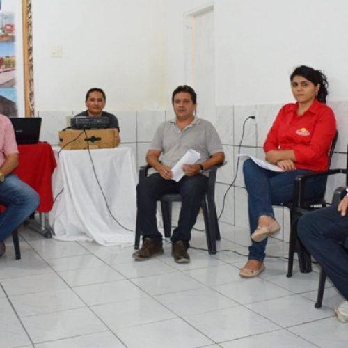 PADRE MARCOS | Reunião com gestores discute concessão de férias a servidores e medidas de prevenção contra o coronavírus