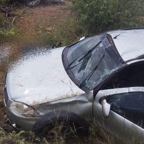 Homem de Caridade morre e mais dois ficam feridos em acidente na PI-459