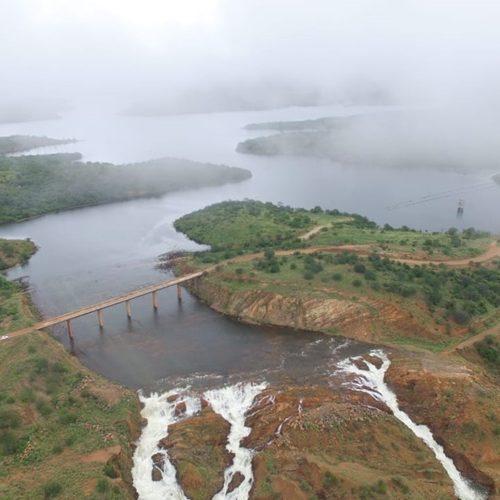 Barragem de Conceição do Canindé transborda pela quarta vez