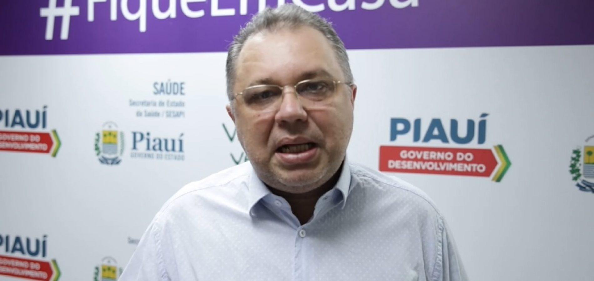 Florentino diz que eleições alavancam casos de covid-19 no Piauí