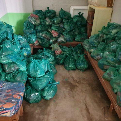 Em Geminiano, 760 kits de merenda escolar são distribuídos para famílias de alunos