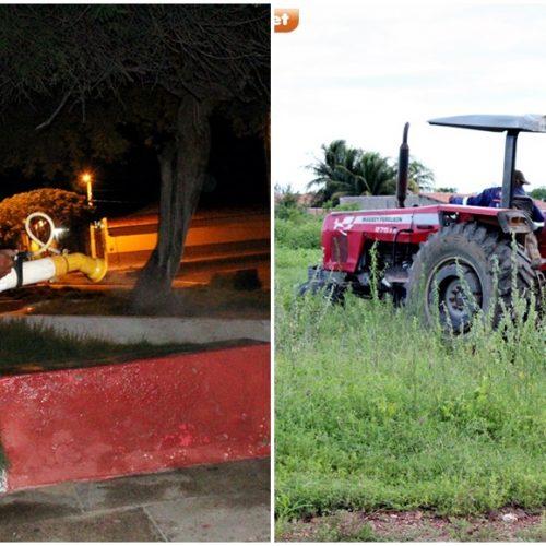 Prefeitura de Alegrete faz limpeza de terrenos e higieniza pontos de aglomeração em combate ao Covid-19