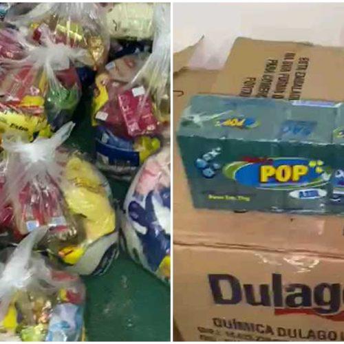 Empresários doam cestas básicas e Prefeitura de Alegrete vai distribuir para famílias carentes