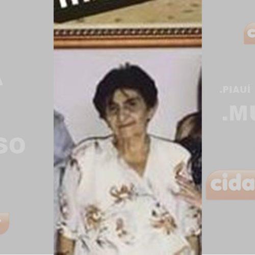 PIO IX | Morre aos 81 anos, vítima de câncer, Maria Noeme de Alencar