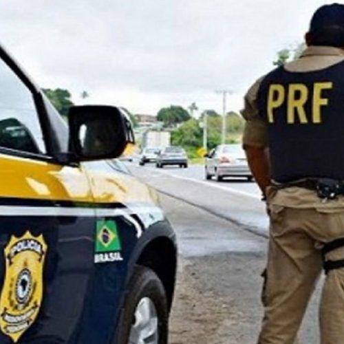 Veículo roubado em São Paulo é recuperado pela PRF na BR-020 em Monsenhor Hipólito