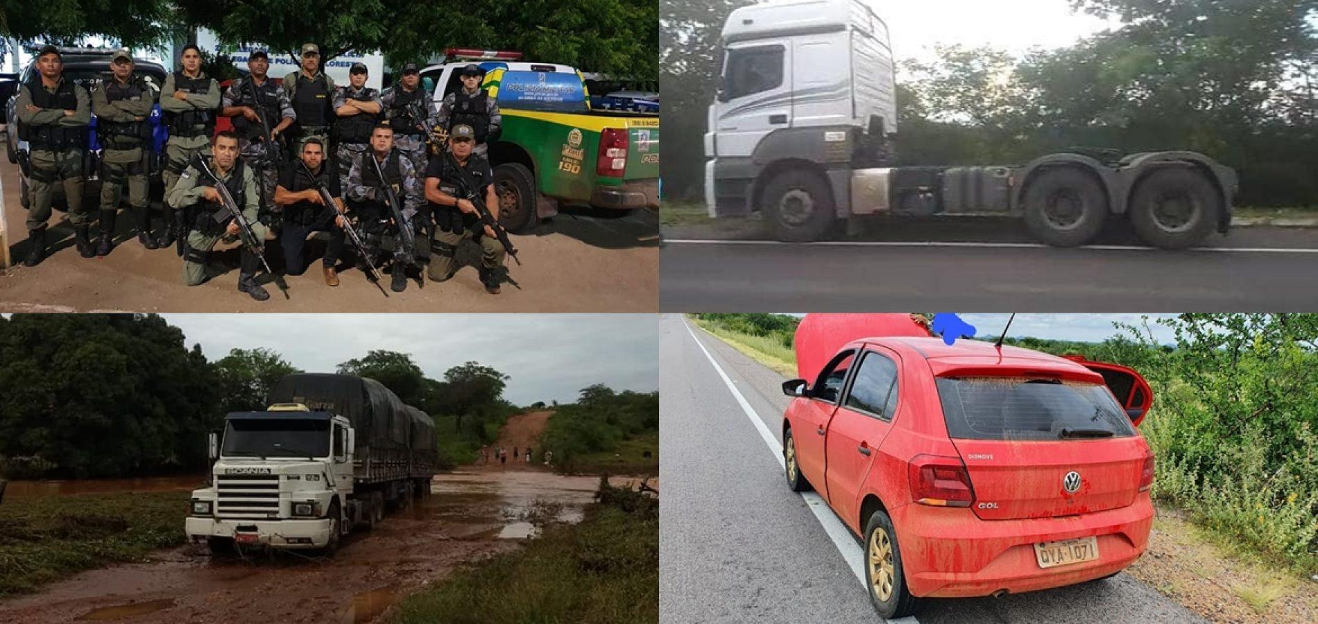 PAULISTANA | Operação 'Bezerro Desmamado' desarticula quadrilha especializada em roubo de carga