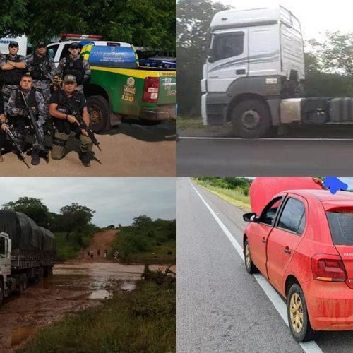 PAULISTANA   Operação 'Bezerro Desmamado' desarticula quadrilha especializada em roubo de carga