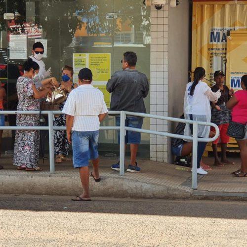 Saúde de Picos realiza intervenções em agências bancárias e lotéricas