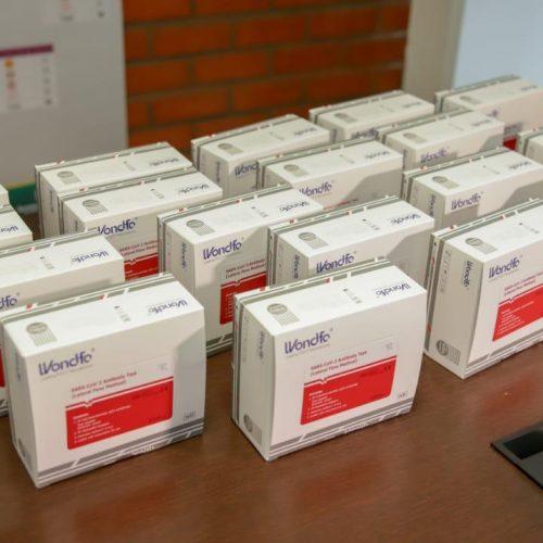 Estoque zera e Saúde de Picos recebe doação de mil testes rápidos para enfrentamento ao coronavírus
