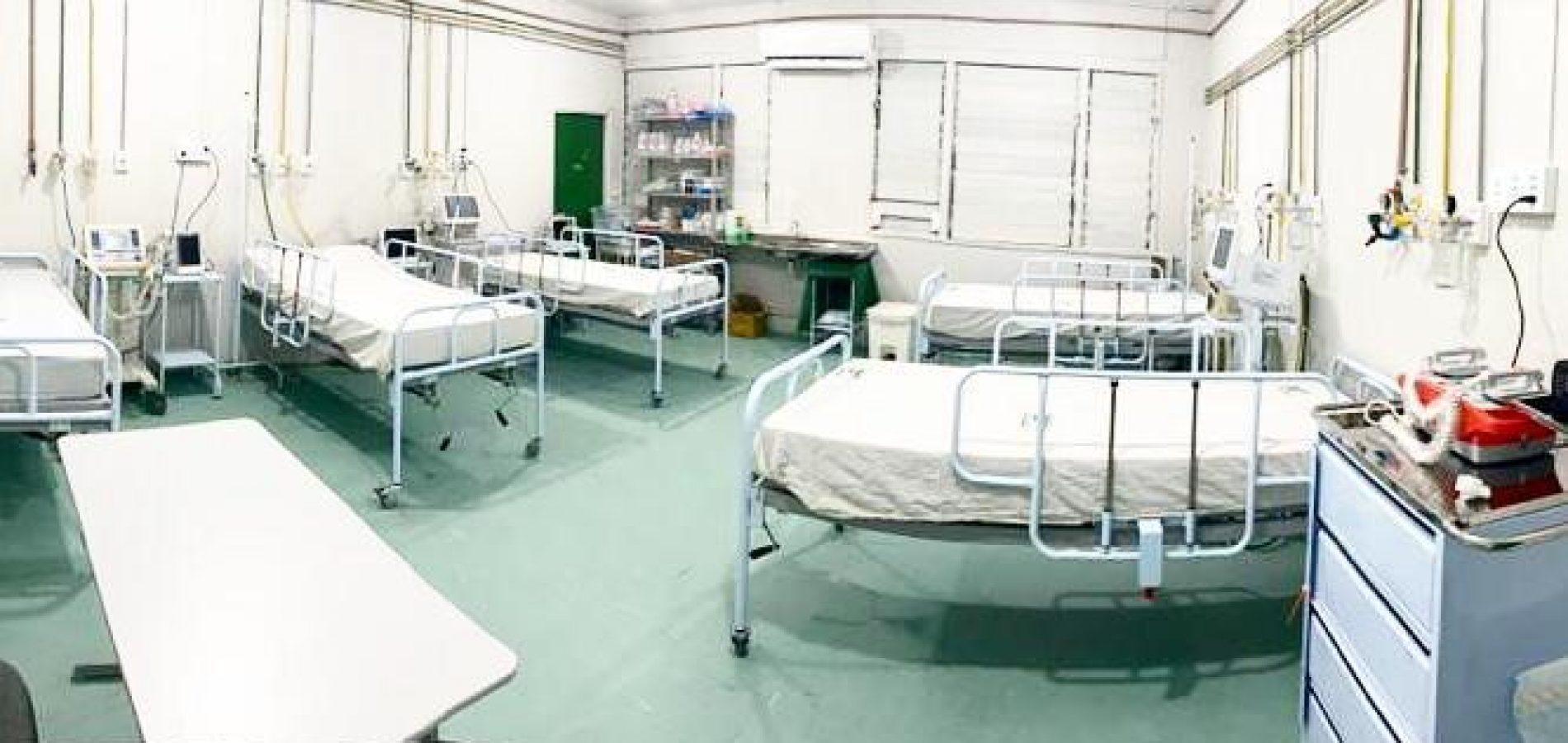 Ocupação de leitos de UTI por pacientes com Covid-19 aumentou 90% em um mês no Piauí