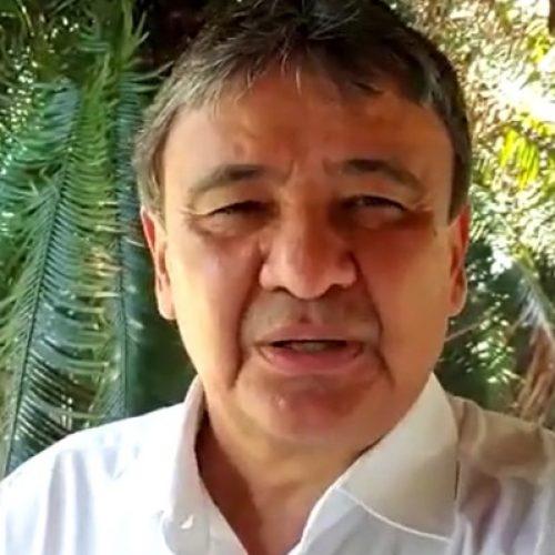"""""""Vamos ter uma curva da evolução"""", diz Wellington Dias sobre amostragem da Covid-19"""