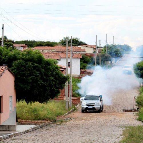Em combate à dengue, pela 2ª vez, Prefeitura de Vila Nova realiza pulverização na sede e no povoado