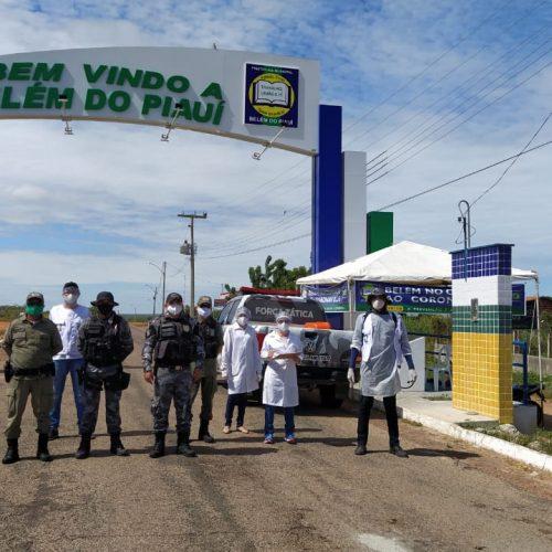 Saúde de Belém do Piauí intensifica barreiras sanitárias e distribui mais de 6 mil máscaras a população