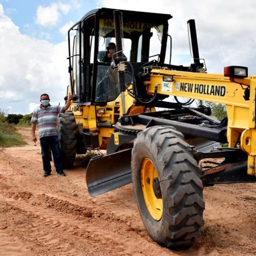 VILA NOVA | Prefeitura está recuperando 150 km de estradas vicinais e melhora trafegabilidade
