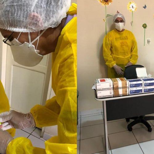 Secretaria realiza testagem em profissionais da saúde de Patos do Piauí e resultados dão negativo