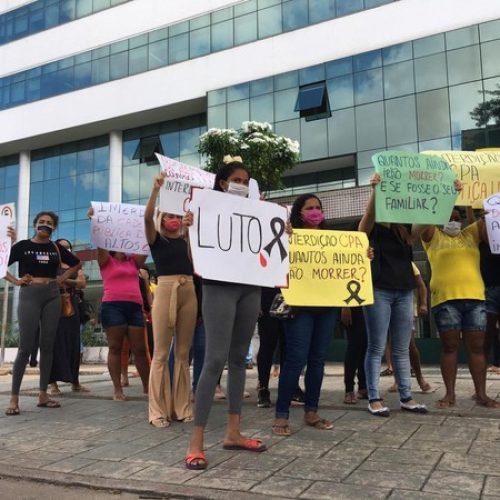 Familiares de presos da Cadeia Pública de Altos protestam após 5ª morte com suspeita de leptospirose