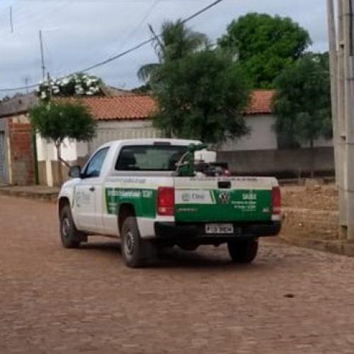 Em combate ao mosquito da dengue, Saúde de Patos do Piauí inicia pulverização de ruas