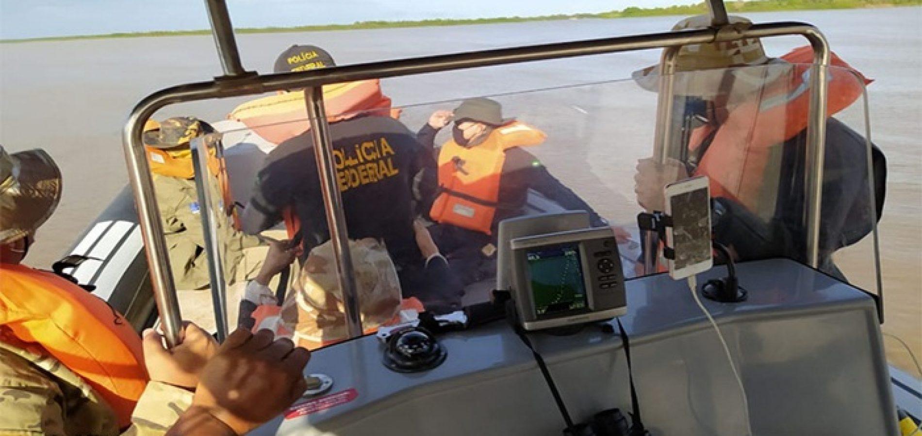Operação da PF tenta barrar pesca predatória no litoral do Piauí