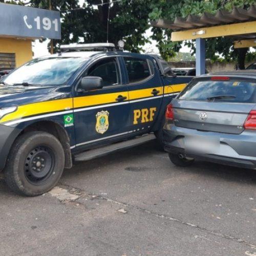 PRF recupera veículo e prende condutor por apropriação indébita na BR 316