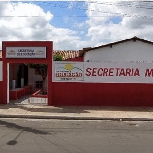 Secretaria de Educação de Padre Marcos retomará aulas de forma remota na segunda (01)