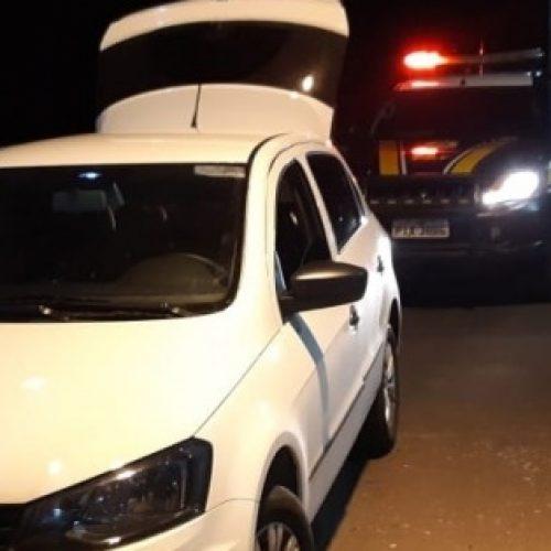 PRF recupera veículo e prende condutor por apropriação indébita no PI