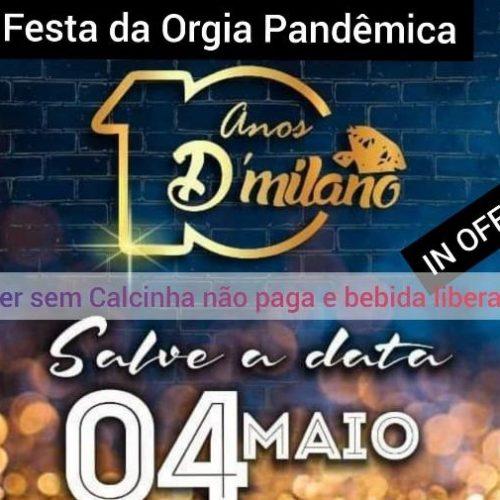 PICOS | Promotor de eventos nega realização de festa na próxima segunda (04)