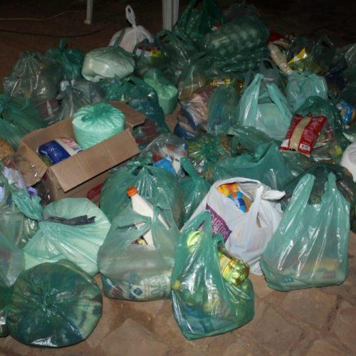 MONSENHOR HIPÓLITO | Campanha doa mais de 400 kg de alimentos para artistas de circo em Patos do Piauí. Ajude também!