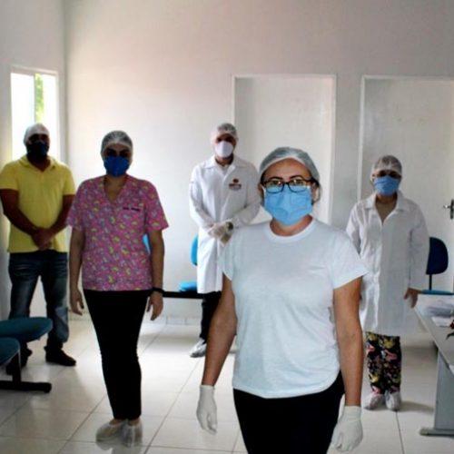 Saúde de Alagoinha do Piauí realiza 48 testes de amostragem para Covid-19