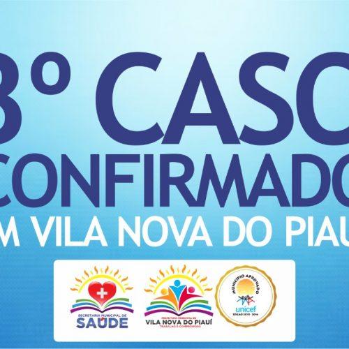 Vila Nova do Piauí registra 3º caso positivo de Coronavírus. Veja boletim atualizado!
