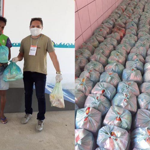 PADRE MARCOS | Educação distribui kits de alimentação escolar para alunos da rede municipal