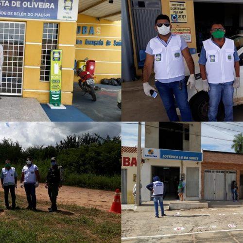 Saúde de Belém do Piauí reforça ações em prevenção ao coronavírus