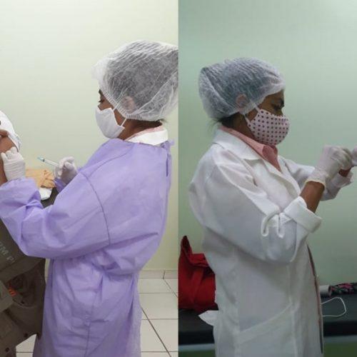 Saúde de Vera Mendes realiza segunda fase da campanha de vacinação contra a influenza