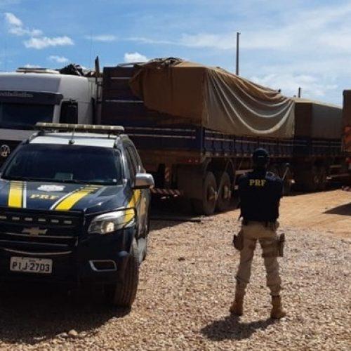 PRF retira das rodovias do Piauí mais de 200 toneladas de excesso de peso em veículos de carga