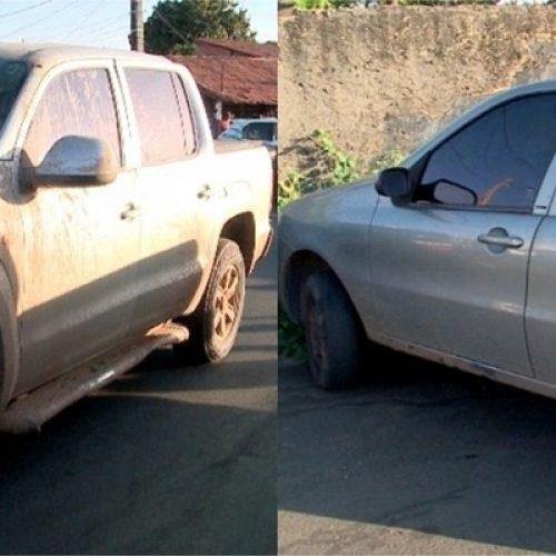 Detentos em prisão domiciliar são presos suspeitos de assalto e carros roubados são recuperados no Piauí