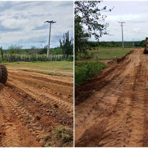 Prefeitura de Caridade do Piauí inicia trabalho de recuperação das estradas vicinais