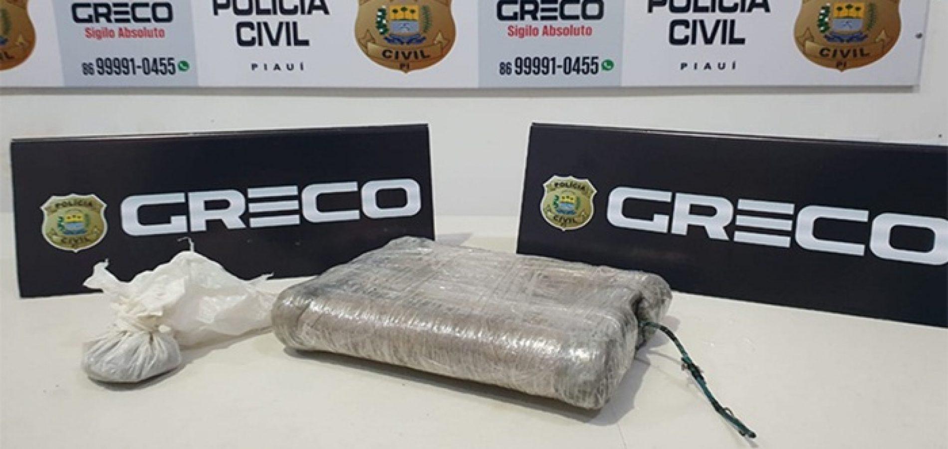 Greco apreende artefato explosivo durante buscas em cidade do Piauí