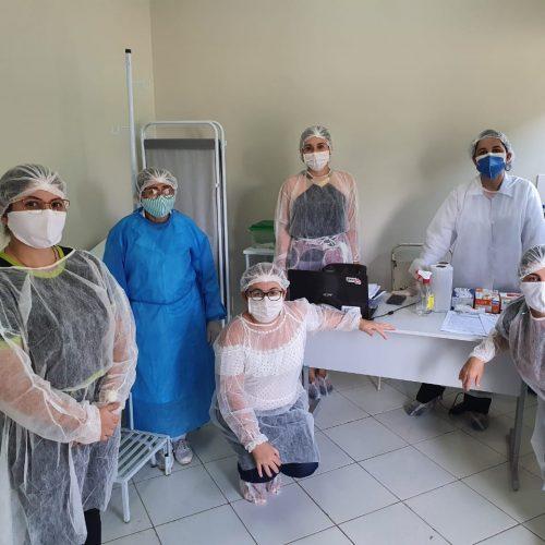 MASSAPÊ | Saúde instala sala para testes rápidos e atendimento de pacientes com sintomas respiratórios