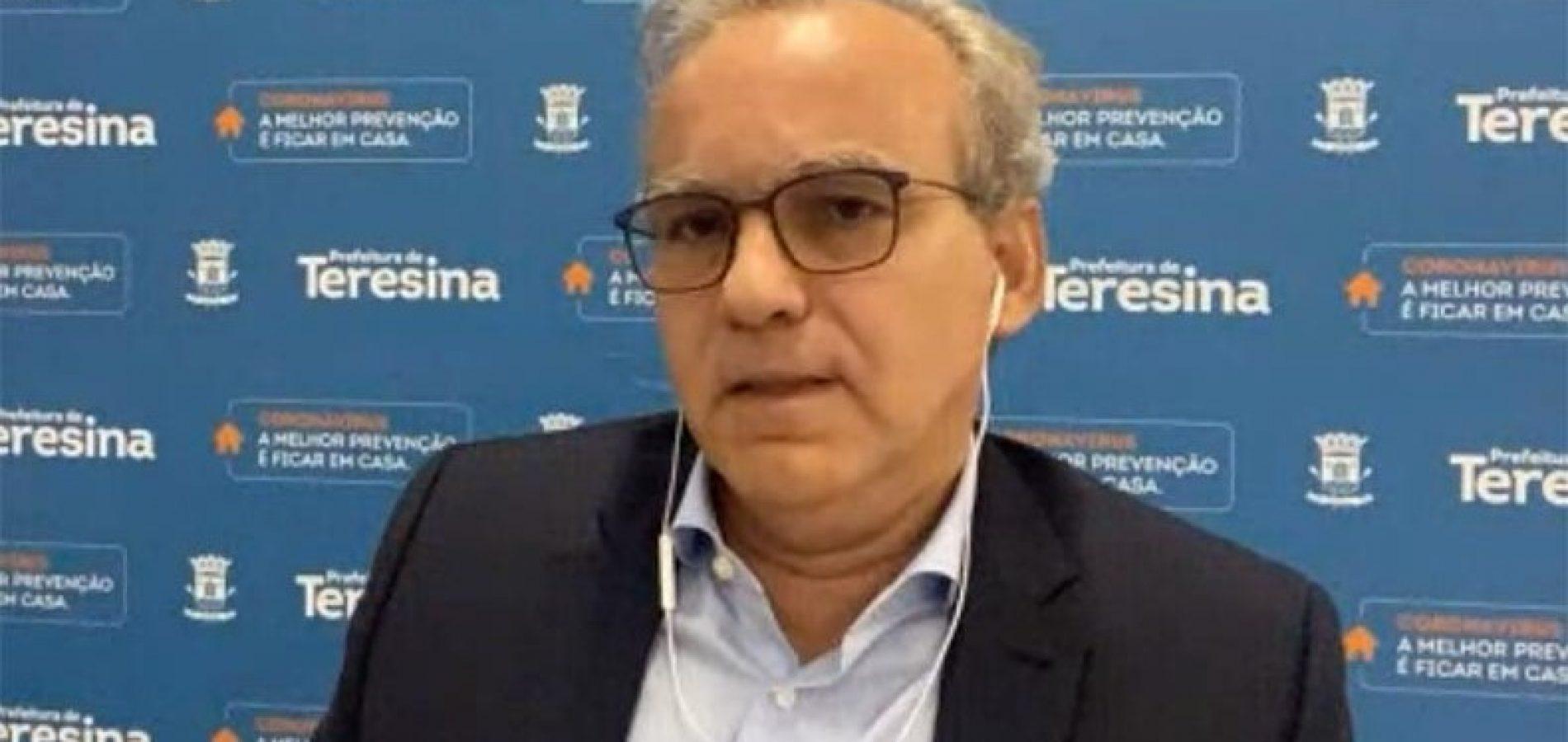 Novo exame do prefeito de Teresina dá negativo para coronavírus: 'De volta ao trabalho'