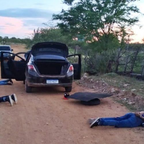Em acerto de contas, homem sofre tentativa de homicídio em Caridade do Piauí e três suspeitos são presos