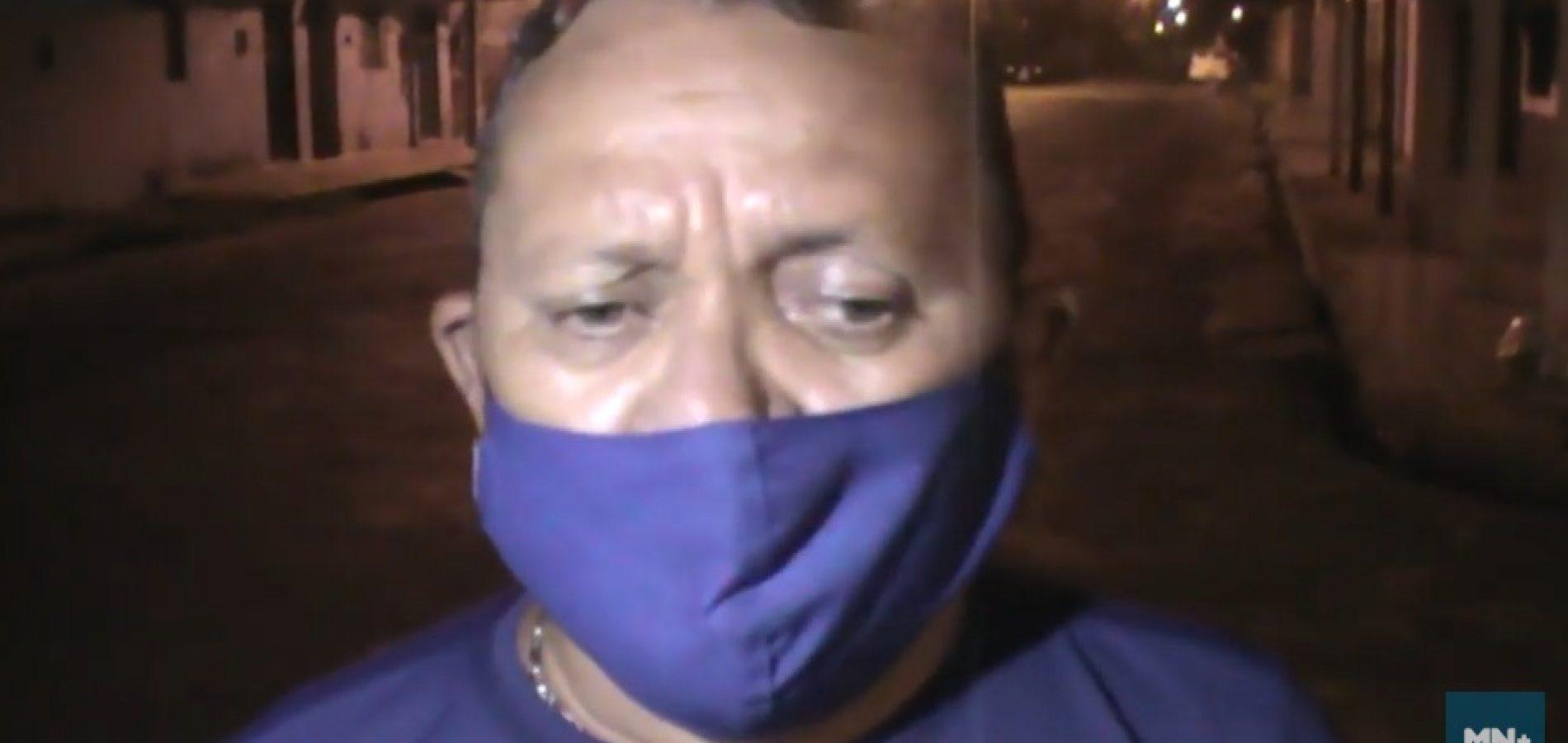 Repórter é assaltado ao tentar entrevistar acusado de roubo no Piauí