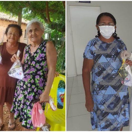 Prefeitura de Bocaina distribui máscaras e álcool gel para idosos