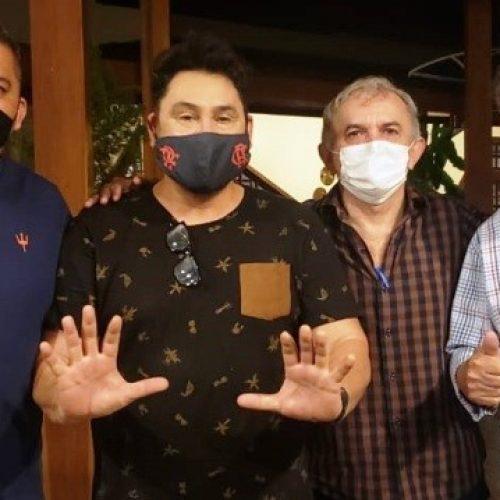 Cantor Mariozan Rocha é pré-candidato a vice de Dr. Zenon Bezerra em Monsenhor Hipólito