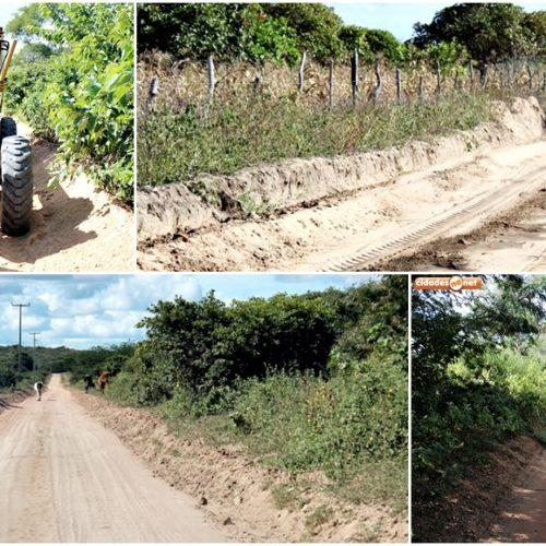 Prefeitura de Alagoinha do Piauí inicia recuperação de estradas vicinais